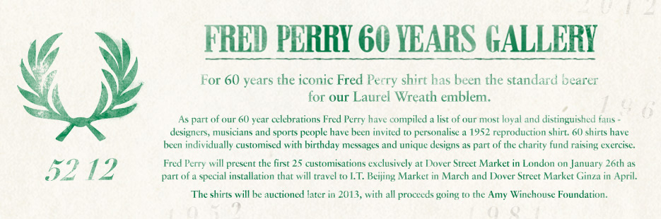 Fred Perry 60 aniversario