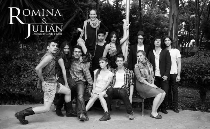 #MegaOfrenda ¿Quiénes son Romina y Julián? Conócelos en esta puesta en escena