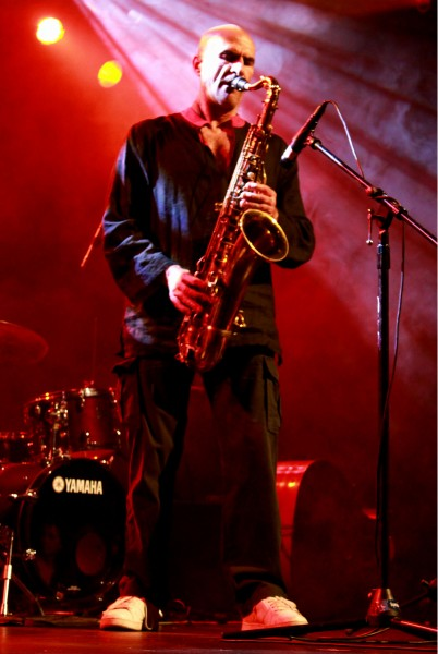 Remi Álvarez. Saxofonista de FAS trío