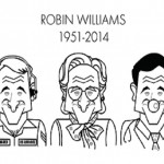 Robin Williams: Ilustradores le rinden tributo