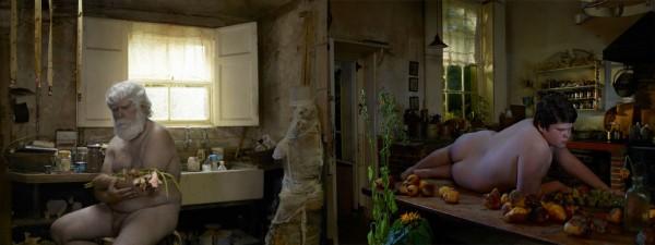 Julia Fullerton- Battern, fotografías de la serie Unadorned, 2012.