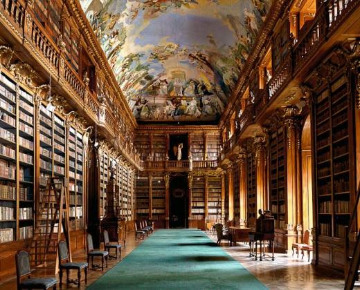 Massimo Listri, Biblioteca di Strahov I, Praga.