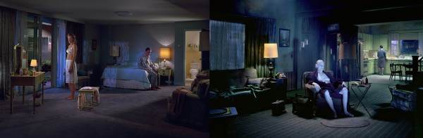 Gregory Crewdson, fotografías de la serie Beneath the roses.