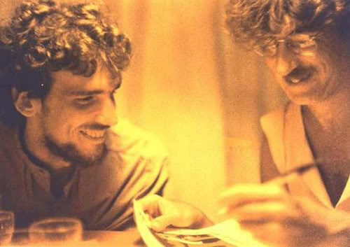 Charly y Spinetta.