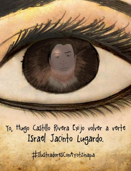 """Yo, Hugo Castillo Rivera, busco a Israel Jacinto Lugardo""."
