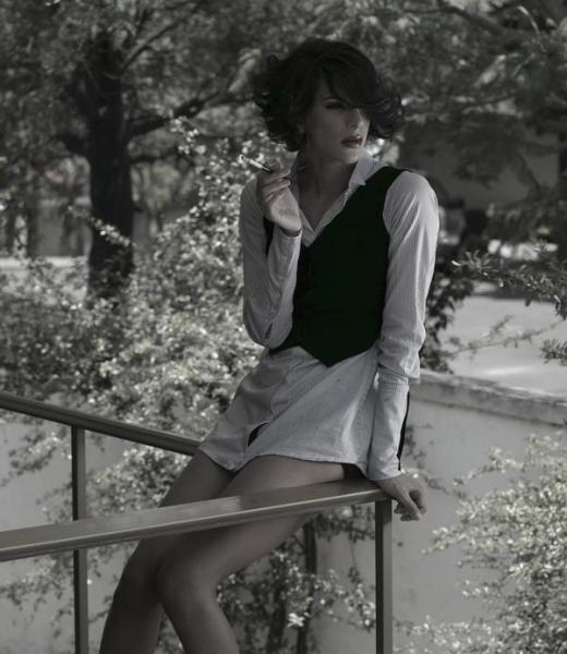 Fotógrafo desconocido, retrato de Zemmoa.