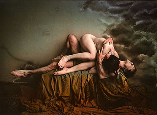 Jan Saudek, The fly