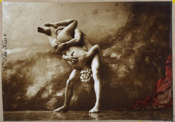 Jan Saudek, The kiss.