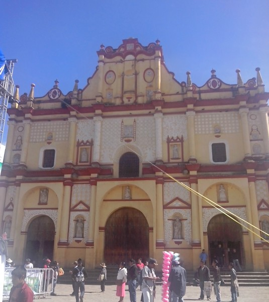san cristobal de las casas - plaza central touched