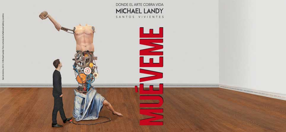 Layout: Michael Landy. Santos Vivientes