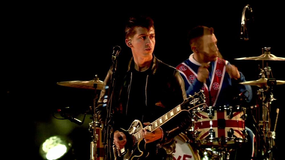 Arctic Monkeys en London 2012