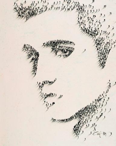 Craig Alan y los pixeles humanos