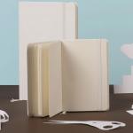 Moleskine White totalmente minimalista