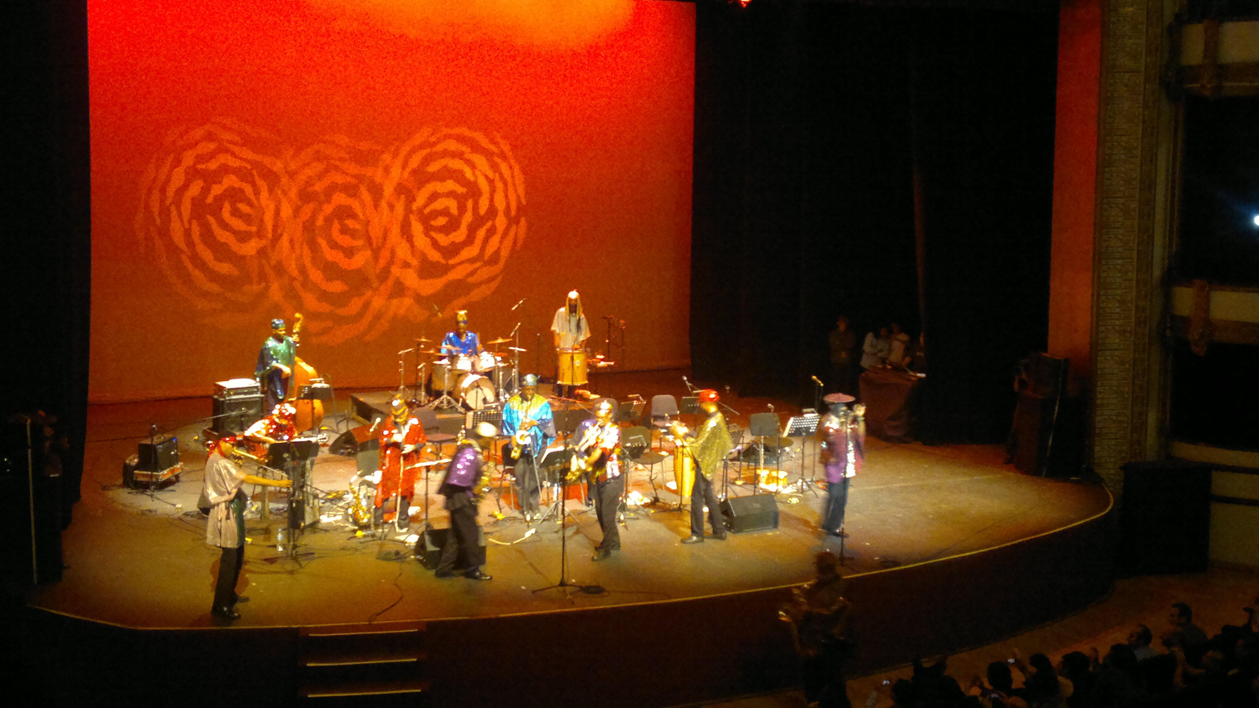 Sun Ra Arkestra en México. Back to the 50's