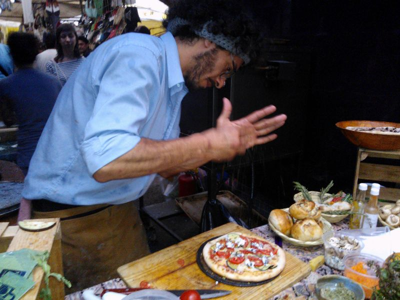 Impresiones francesas, sobre la comida mexicana: goûter au marché