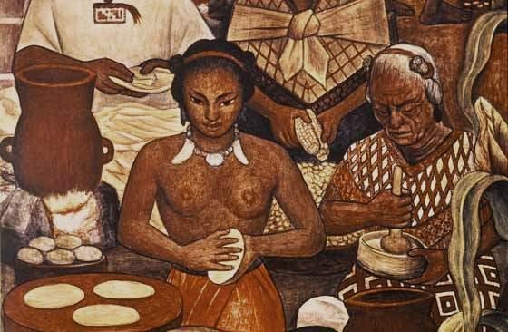 Mural de Diego Rivera (fracción)