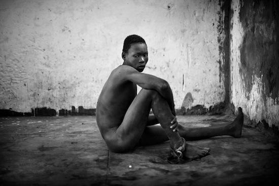 Robin Hammond, de la serie Condemned, Sudán, 2011.
